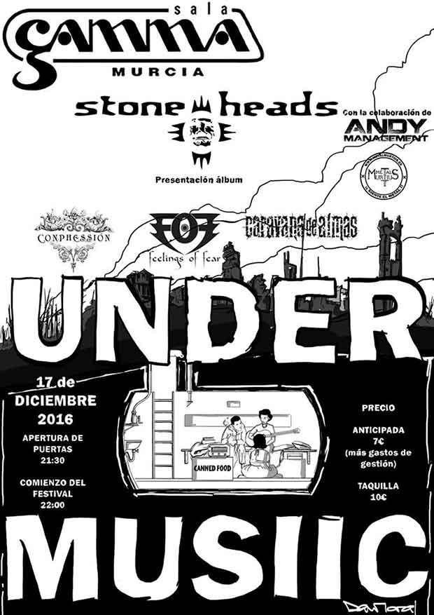 under music festival