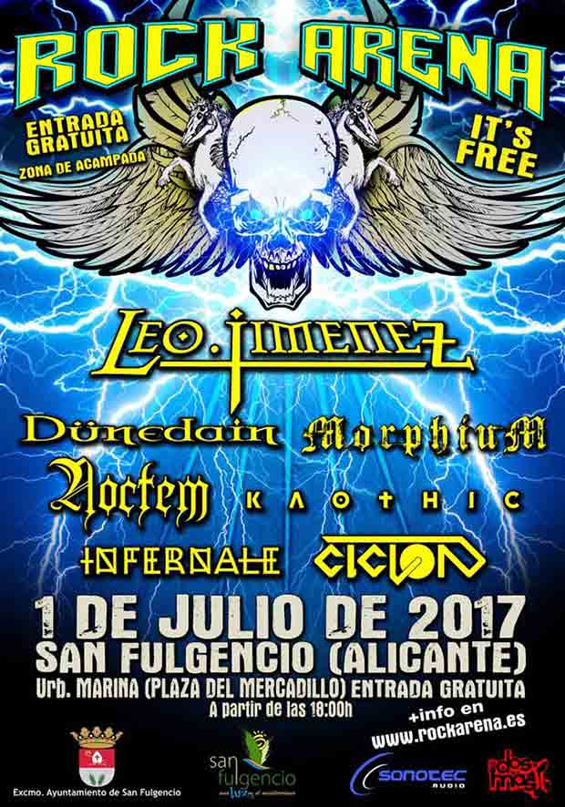 rock arena 2017