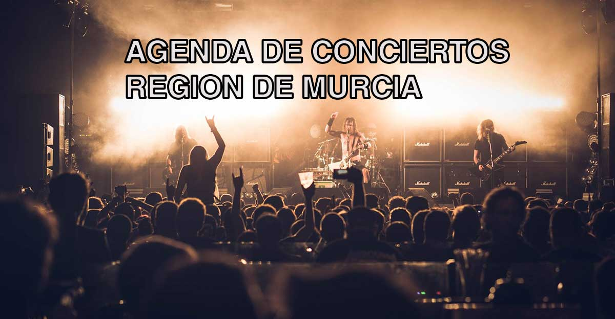 Agenda de conciertos Rock y metal Murcia